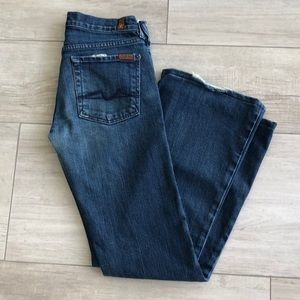 "7 For All Mankind Flare Jeans - ""Flare"" Size 27"